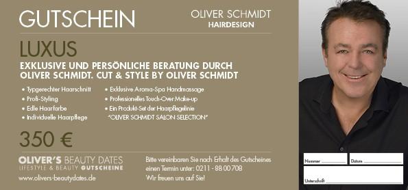 Luxus Gutschein Exklusive & Persönliche Beratung durch Oliver Schmidt