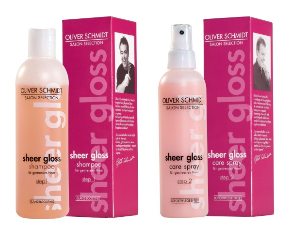 Set: Sheer Gloss Shampoo + Care Spray