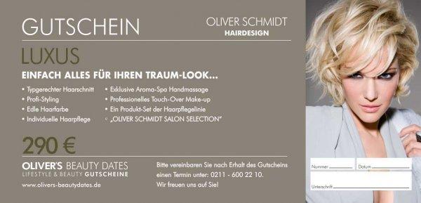 Luxus Gutschein by Oliver Schmidt Hairdesign