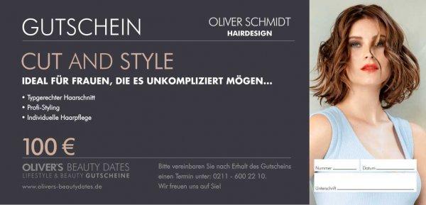Gutschein Cut & Style by Oliver Schmidt Hairdesign