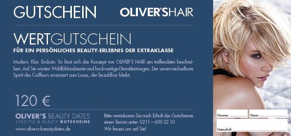 Wertgutschein by Oliver's Hair